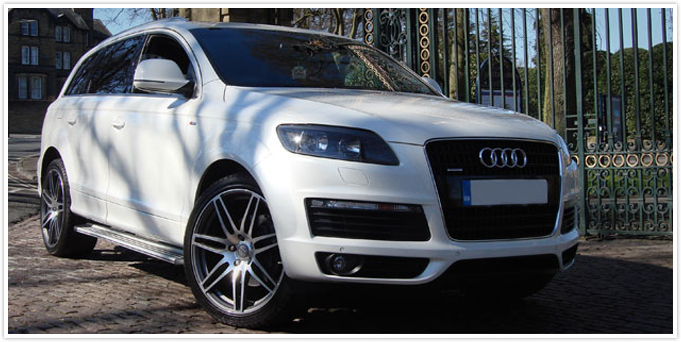 Audi Q7 Self Drive Available Black White Bradford Leeds
