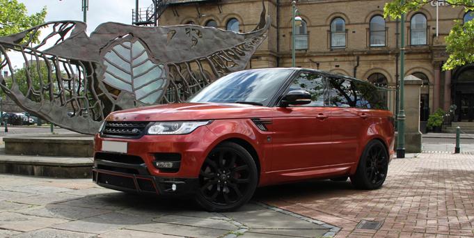 Hire Range Rover Sport 4x4 Self Drive Hire Bradford Leeds