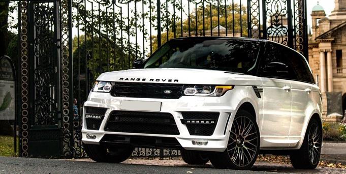 Range Rover Sports Car Hire Self Drive Rental Bradford Leeds