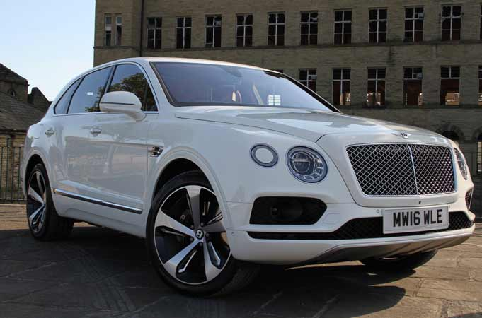 Bentley Bentayga‬ 4x4 Suv Hire Bradford Leeds Self Drive