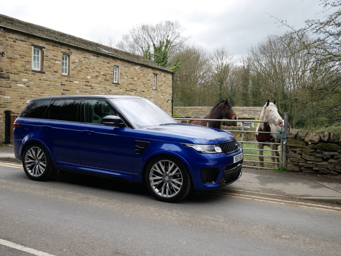 Range Rover Sport Svr Super Charged 4x4 Luxury Supercar