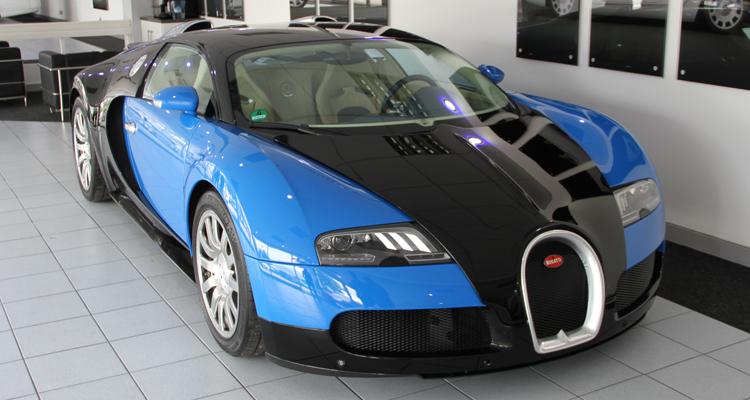 Bugatti Veyron - Oasis Limo