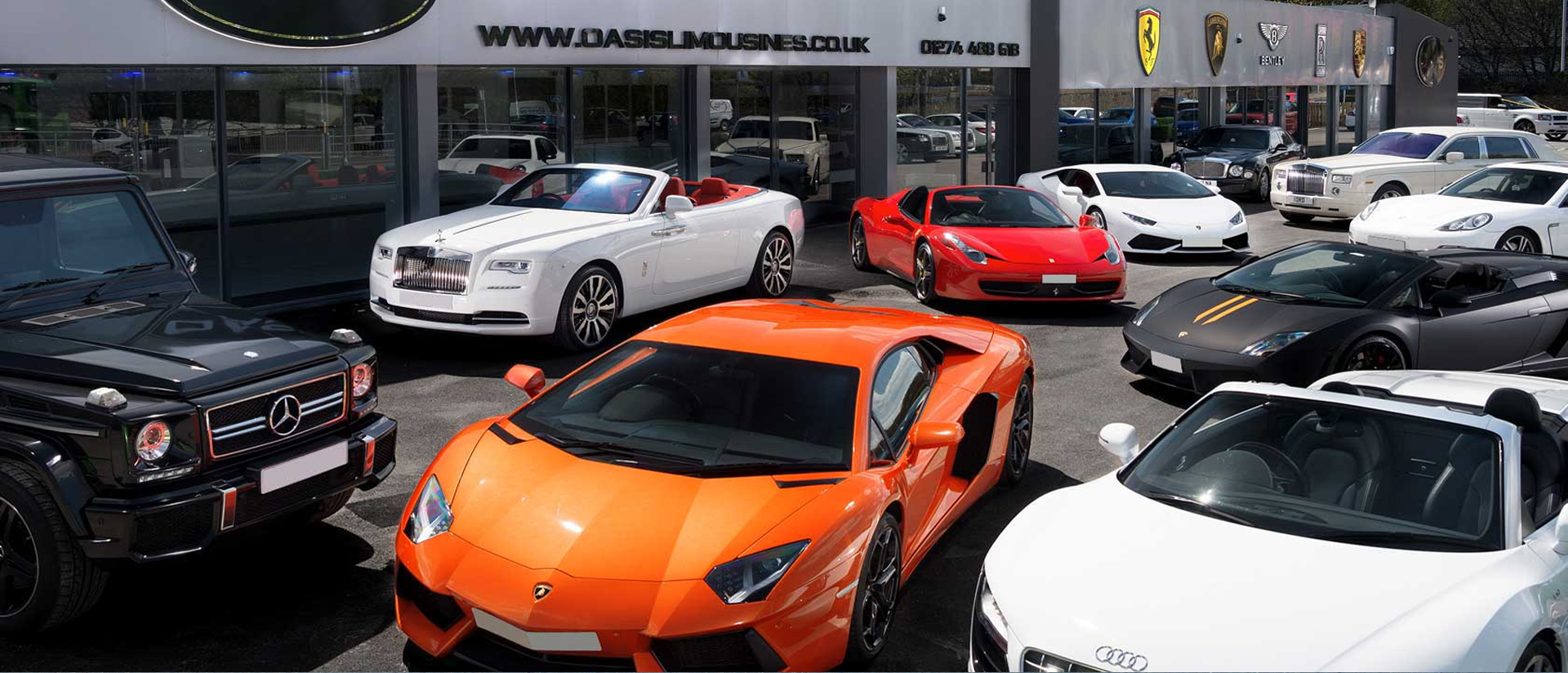 Luxury Cars For Rent In Uk